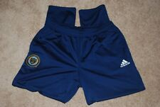 Men's Adidas Philadelphia Union Blue Soccer Warm Up Track Pants (X-Large) $90