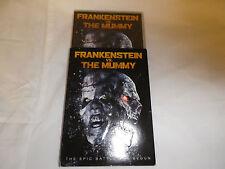 Frankenstein Vs. The Mummy DVD THE EPIC BATTLE HAS BEGUN-REST IN PIECES- NEW DVD