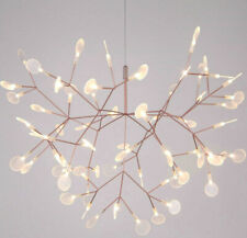 NICE Modern LED Glowworm Firefly Chandelier Plants Tree Branch Pendant Lights