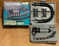 Vintage Unused FLEXIBLE 25 Piece Screwdriver and Socket Wrench Set