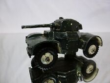 DINKY TOYS 670 ARMOURED CAR - ARMY GREEN - NICE CONDITION