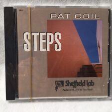 Sheffield Lab CD & Cassette Tape of Pat Coil's STEPS in  2 Hi Fi Formats AC#1