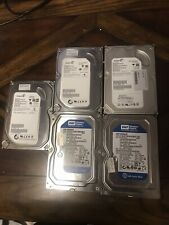 lot of 5 seagate Barracuda hd 500gb 160gb FREE SHIPPING (See Pictures)