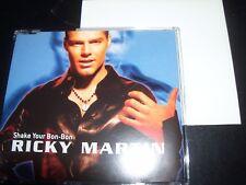 Ricky Martin Shake Your Bon-Bon UK Poster Pack CD Single