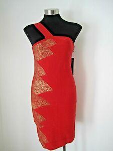 NEW WITH TAGS! Stella Orange Dress Size 12 M RRP $169