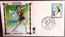 JAPON tennis de table, ping pong. 37th national Athletic meet 1982. FDC