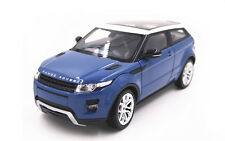 Welly 1:24 Land Rover Range Rover Evoque Diecast Model Car Blue New In Box