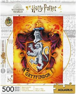 Harry Potter Gryffindor Crest 500 piece jigsaw puzzle 350mm x 480mm (nm)