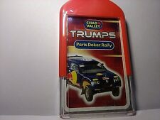Paris Dakar Rally - Chad Valley Trumps Game- Playing Card Game - New/Sealed