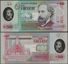 Uruguay B561 50 Pesos Uruguayos 2020 Polymer Banknote @ EBS