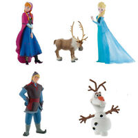 Official Disney Frozen Anna Elsa Olaf Steve Kristoff Toy Figure Gift Brand New