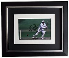 Graham Gooch SIGNED 10x8 FRAMED Photo Autograph Display England Cricket COA