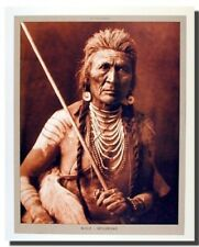 Wolf - Apsaroke Indian Warrior Chief Native American Wall Decor Art Print 16x20