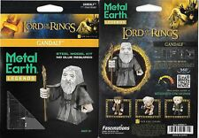 Lord of The Rings Gandalf Metal Earth Legends 3-D Laser Cut Steel Model Kit New