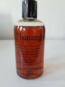 NEW Philosophy Hot Buttered Rum Shampoo Shower Gel Bubble Bath 8 Fl Oz