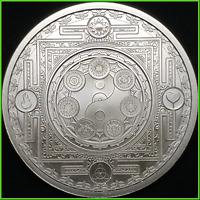 2019 1oz Cosmic Archetype BU Silver Shield Conscientia Series #21