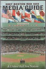 2007 Boston Red Sox Media Guide