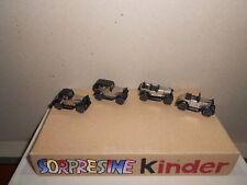 SORPRESINE KINDER  1994 - SERIE AUTO - METALLO OLDTIME - K95 114/117