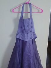 prom dresse, purple, size 6. Worn maybe twice
