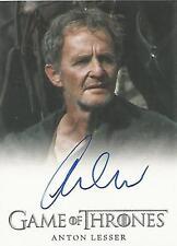 "Game of Thrones Season 4 - Anton Lesser ""Qyburn"" Autograph Card"