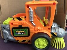 The Trash Pack Road Sweeper Truck Vehicle Street Cleaner