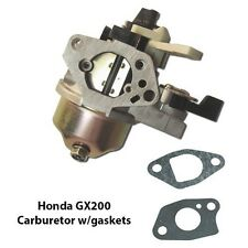 Honda GX200 6.5HP Replacement Quality Carburetor w/ Choke lever 16100-ZL0-W51