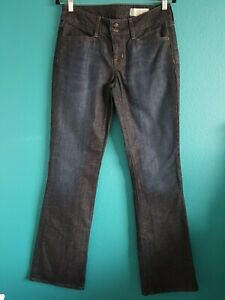 GAP Women's Curvy Boot Cut Charcoal Jeans Color Size 28/6L Stretch    (B