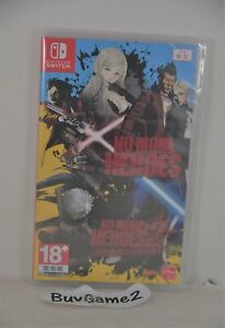 NEW Switch No More Heroes 1 + 2 (HK, ENGLISH/ Chinese 中文/ Japanese/ Korean)
