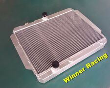 70mm aluminum alloy radiator Cadillac all models V8 with tranny cooler AT 59-60