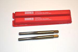 2 NOS Dormer Sweden E071 10-32 No. 3 Bottom HSS Straight Flute 4 Flute UNF TAPS