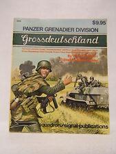 Panzer Grenadier Division Grossdeutschland Horst Scheibert 1977 Illustrated Df