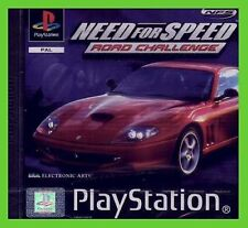 NEED for SPEED road challenge ps1 NUOVO ITALIANO new SIGILLATO playstation nfs