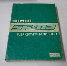 Officina MANUALE SUZUKI Swift SF 413 STAND 1988