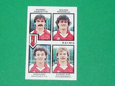 N°392 ZORZETTO STADE REIMS D2 PANINI FOOTBALL 85 1984-1985