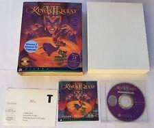 King's Quest VII 7 The Princeless Bride Jeu Big Box Sur PC