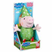 Peppa Pig Peppa's Musical Fête Peluche Jouet Poupée avec Sons - George