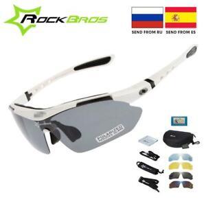 Hot! Rockbros Polarized Cycling Glasses Cycling Sunglasses Outdoor Sport Road Bi