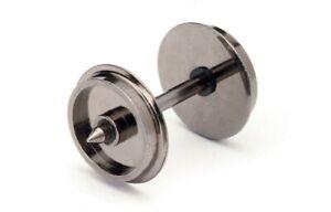Hornby R8096 12.6MM Metal Disc Wheels - Pack of 10 - OO Gauge