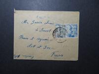 Spain 1940 Military Censor Cover to France  - Z11811