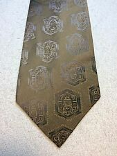 Vintage Wembley Mens Tie 4.25 X 54 Bronze With Gray