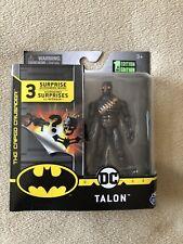TALON-ACTION FIGURE-DC BATMAN CAPED CRUSADER-SPIN MASTER 1st EDITION NEW
