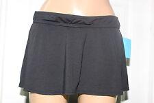 Anne Cole 16mb400 Black Rock Skirted Swimwear Bikini Bottom Plus 20w