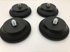 Braun Atelier HiFi Tellerfüße Geräteschrank GS 3 / 4 / 5 / 6 schwarz