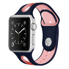 Replacement Soft Silicone Strap Sports Band For Apple Watch 42/38 iWatch 4/3/2/1