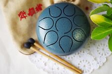 Mini Tongue Drum Tank Drum Hand Pan Drum Chakra Drum Healing meditation