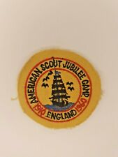 More details for  vintage american scout jubilee camp badge 1960  england
