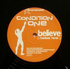 """Condition One  """"Believe"""" * Handwerk011 / Manteez Remix / Single Sided"""