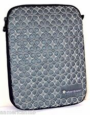 """Sherpani Sync 10"""" Tablet Sleeve Case Cover PEWTER Ipad 2 3 4Air Samsung Quilted"""