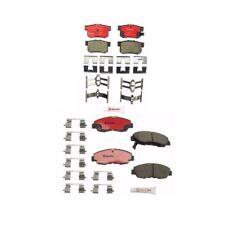 Front & Rear Disc Brake Pads Fits: Honda Accord 1998-2002 Honda Civic 2002-2011