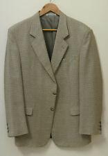 "Bossini Silk-Wool Coat - Italian cloth  size 102R - 40-42"" -  cost $300 - AS NEW"